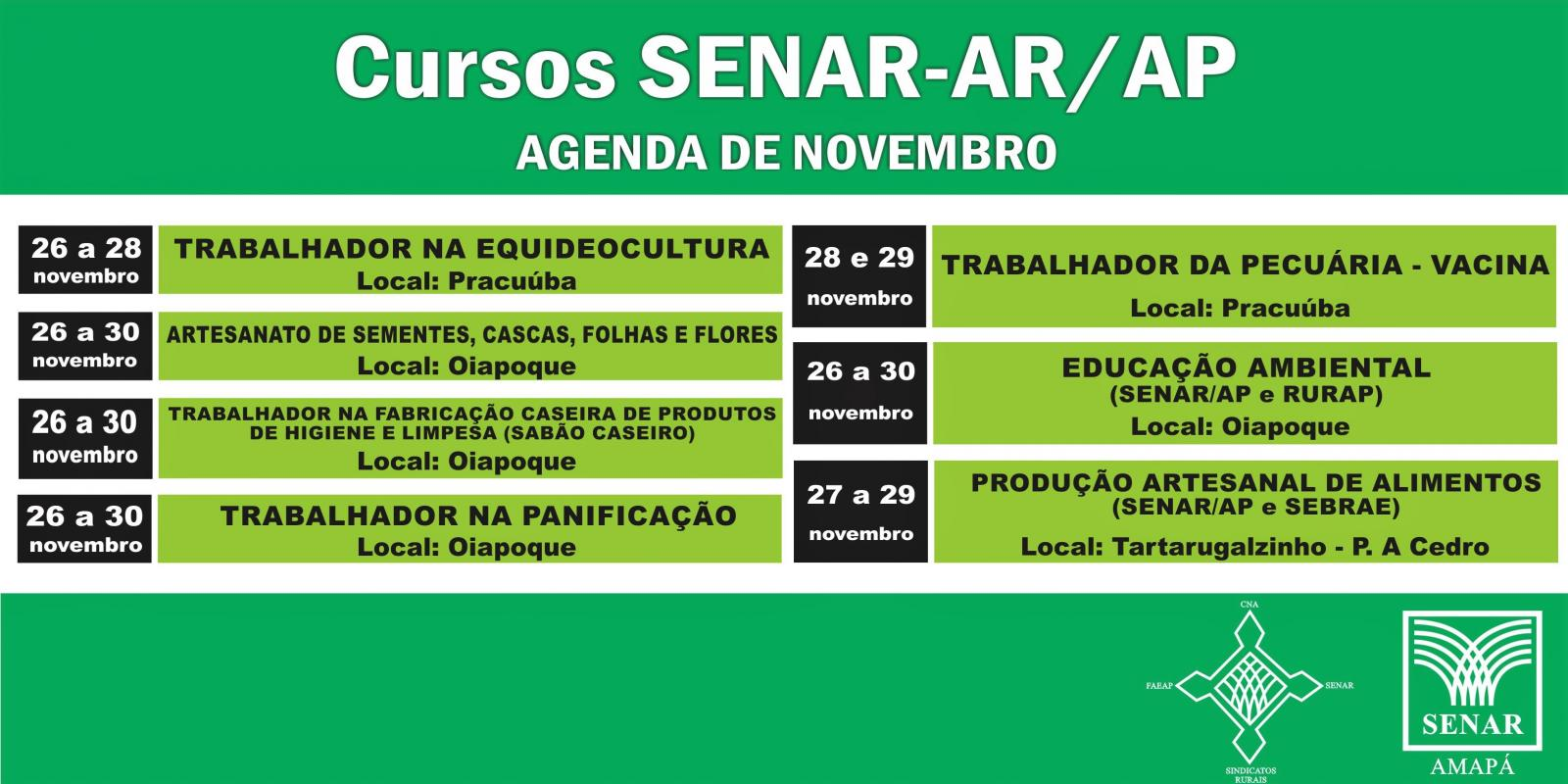 Agenda SENAR Amapá