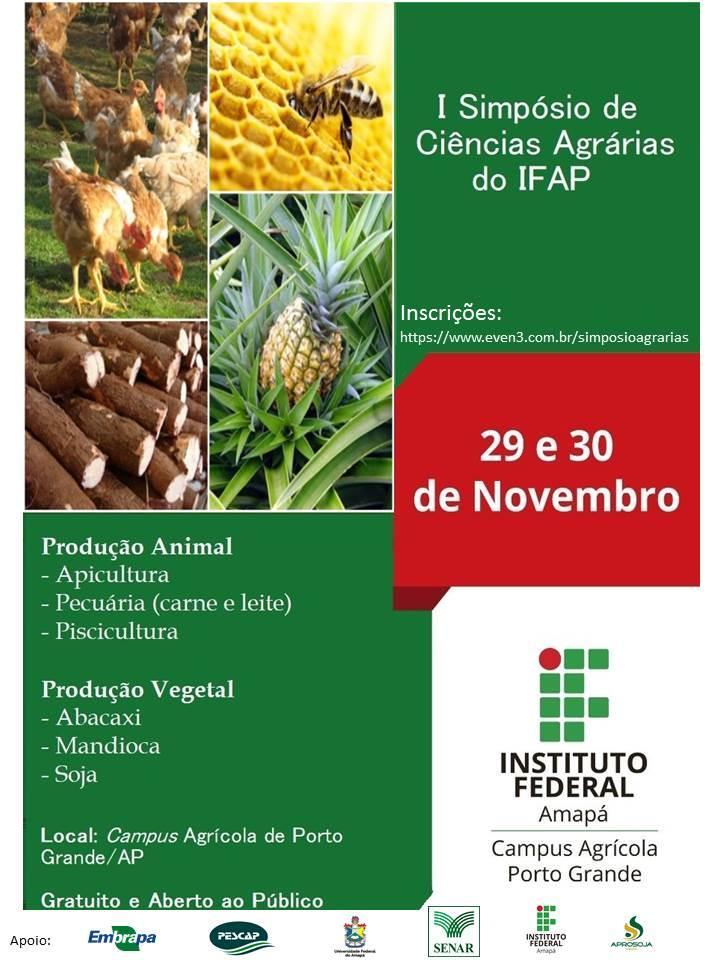 Cursos do SENAR-AP serão oferecidos no I Simpósio de Ciências Agrárias do IFAP