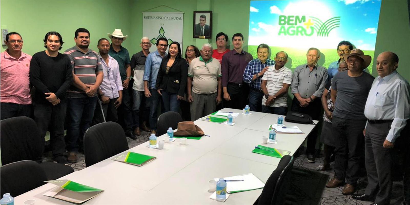 """Conselheiros dos Sindicatos Rurais do Amapá conhecem o programa de benefícios da CNA """"Bem+Agro"""""""