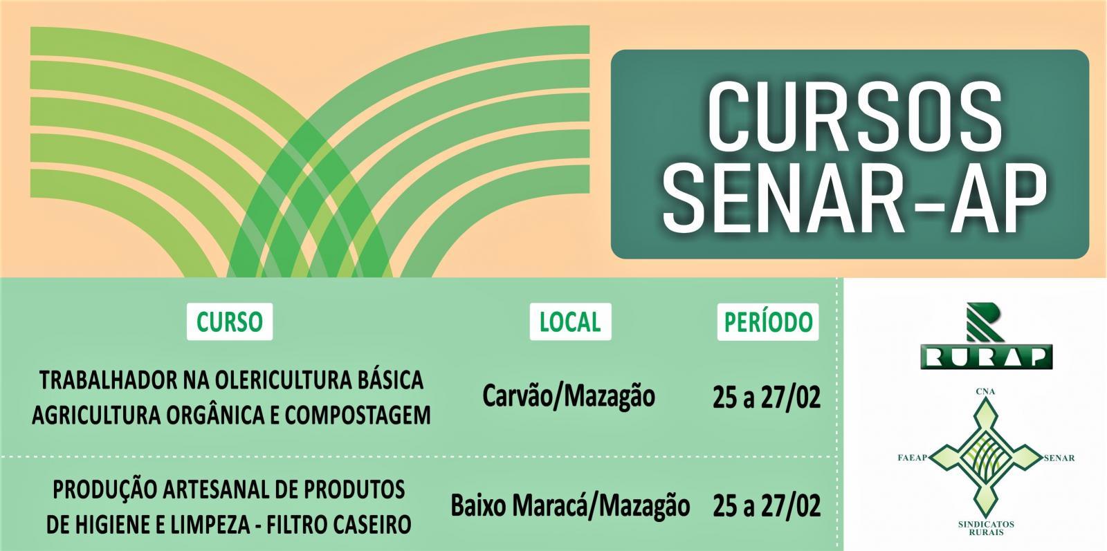 Cursos do SENAR-AP iniciam no município de Mazagão