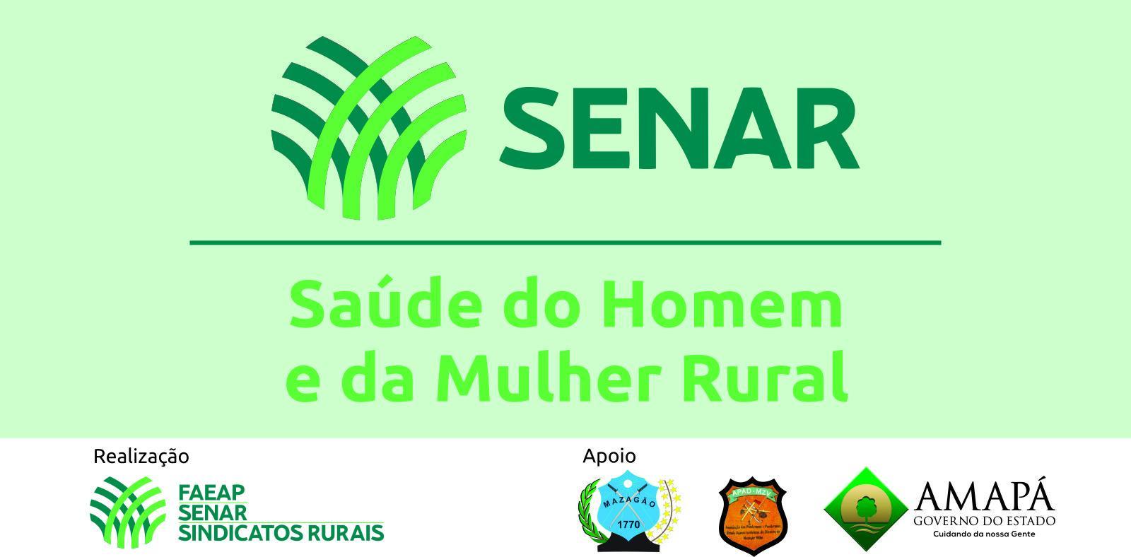 Neste sábado, 27, FAEAP e SENAR-AP realizarão dia especial voltado a saúde do homem e da mulher rural